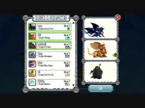 Dragón city pelea de puros nivel 100 de la liga del dragón y copa diamante nivel 6