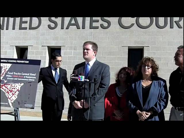 Mean Streets: El Paso's Attack on Mobile Vendors - Case Launch Press Conf. 1/26/11