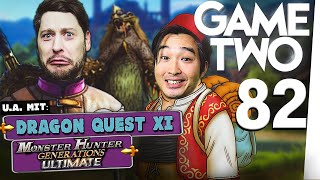 Monster Hunter Generations Ultimate, Dragon Quest XI, WOW Battle for Azeroth | Game Two #82