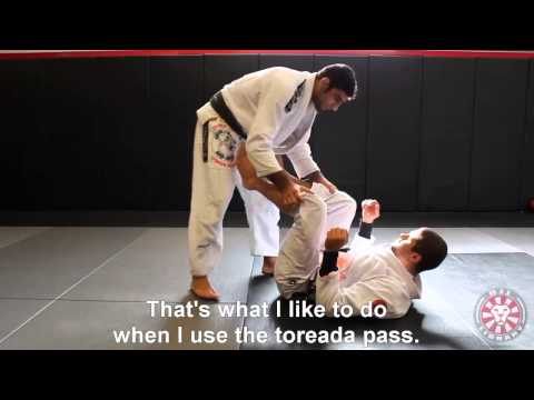 Leandro Lo - Torreada Pass from BJJ Library Seminar