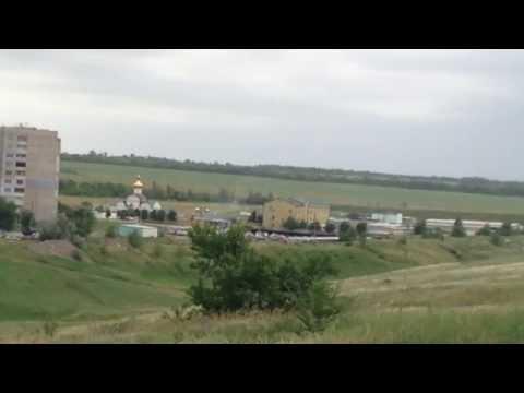 Луганск Бой кв. Мирный Погранзастава Авиация /Lugansk Ukraine War Jun 2, 2014