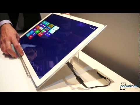 Panasonic 20-Inch 4K Windows 8 Tablet