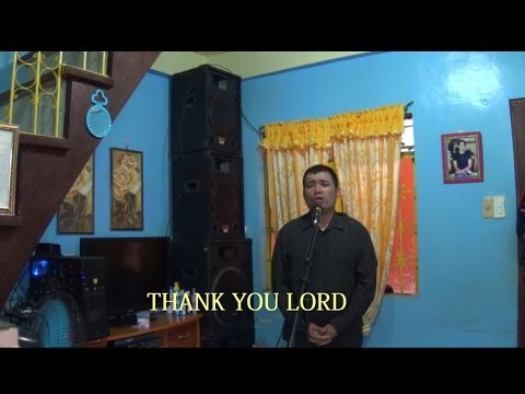 Thank You Lord by Joepeter Tabamo ( with lyrics)