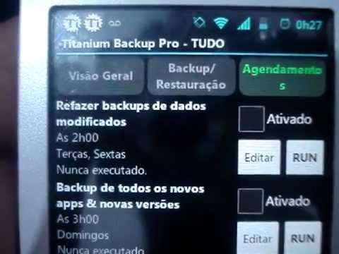 Tutorial: Como fazer backup dos app's (apk) com Titanium Backup