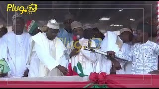 PDP Podium Collapses during their Campaign In Kebbi State