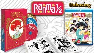 Ranma 1/2 Anime Set 1 Blu-ray Limited Edition OFFICIAL UNBOXING