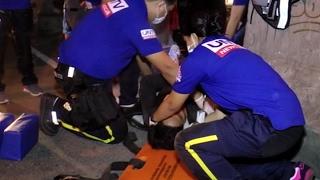 2 sugatan sa motorcycle accident, tinulungan ng UNTV News and Rescue at MMDA Rescue