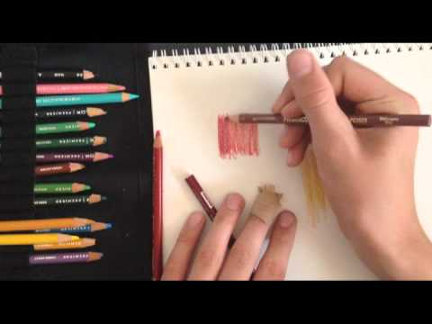 Prismacolor Pencil Blender Tutorial