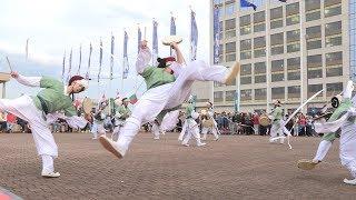 DrumLine Battle:  TRADOC Vs. The Republic of Korea Traditional Army Band