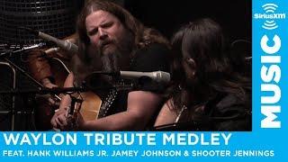 "Download Lagu Hank Williams Jr. Jamey Johnson & Shooter Jennings ""Waylon Tribute Medley"" Gratis STAFABAND"