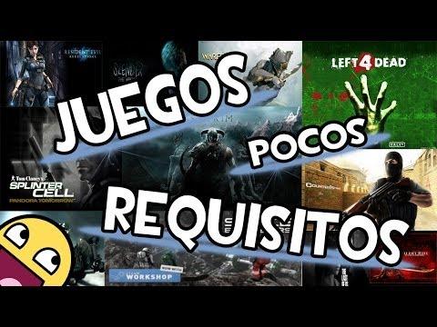 Juegos De Pocos Requisitos para PC Full en Español + Descarga