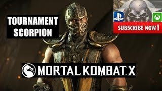 Mortal Kombat X - Unlock Tournament Scorpion Costume