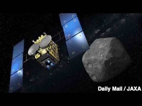 Japan Successfully Tests Asteroid-Blasting Space Cannon