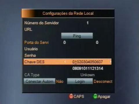 Configurar Servidor CS no Az America S808 S809 S812