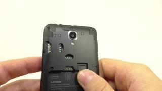 Видео обзор смартфона Lenovo A2016 8 Гб черный