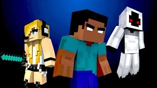 HEROBRINE IS DEAD   PSYCHO GiRL REACTION   BATTLE OF THE GLITCHES EP. 1