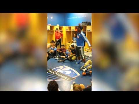 Didier Drogba danse avec l'Académie de l'Impact