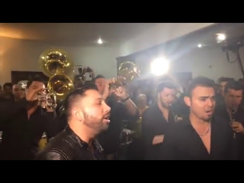 Banda El Recodo toca para a Aldo Sarabia en funeral (1)