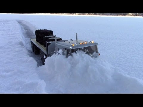 RC TRAIL ICEROAD TRUCKERS GLOBE LINER RESCUEMISSION