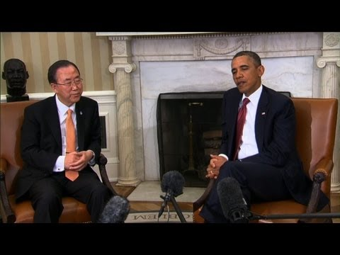 Obama, Ban voice concern on North Korea