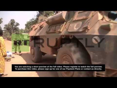 Central African Republic: Military patrol Bangui as part of 'Sangaris' operation