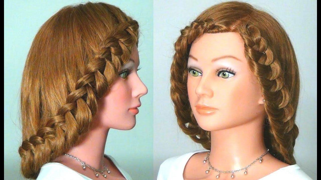 Плетение волос на длинные волосы своими руками