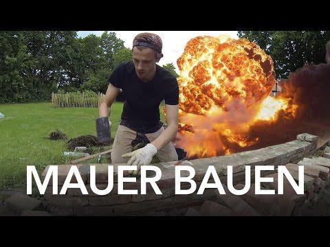 Mauer Bauen Anleitung Heimwerkerking Anleitungsvideo Zum Bauen