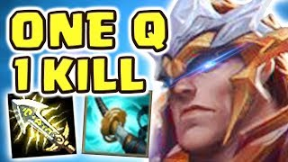 *NEW* GOD KING GAREN JUNGLE PENTAKILL (SPOTLIGHT) | 30 kilIs CRIT BUILD | THE BEST SKIN EVER?!