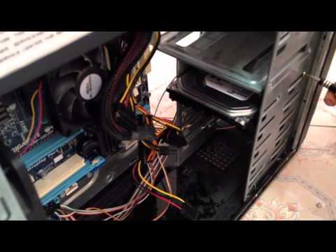 วิธีถอดประกอบคอมพิวเตอร์