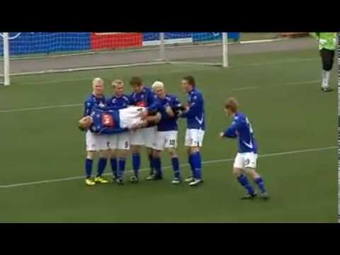 Icelandic Weird Goal Celebration