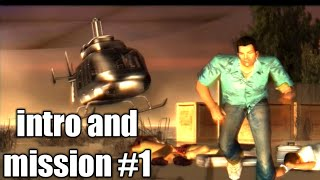 GTA Vice City Introduction and first mission in the beginning Walkthrough