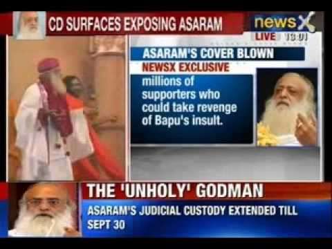 Asaram Bapu Scandal: Newsx Accesses The Cd Which Has His Aide, Threatening Girl's Uncle video