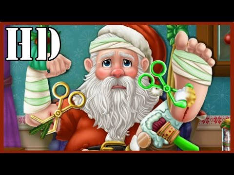 Santa Hospital Recovery - Christmas Games Videos - Gameplay For Kids