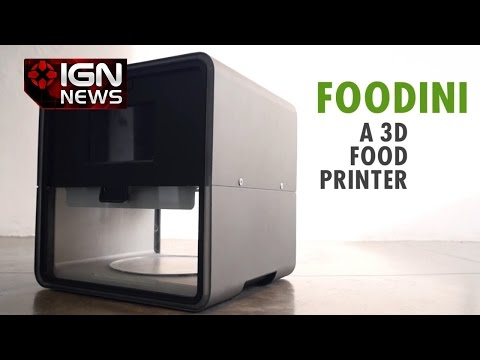 Print Pizza At Home - IGN News