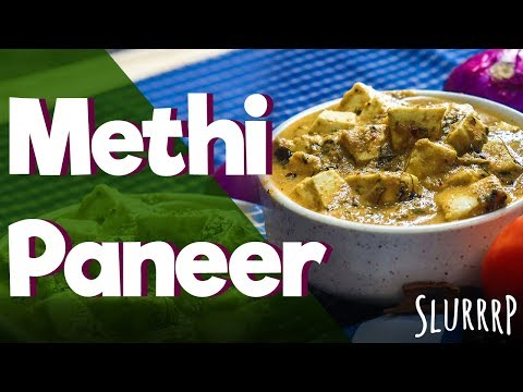 Methi Paneer | Low Carb Paneer Recipe |