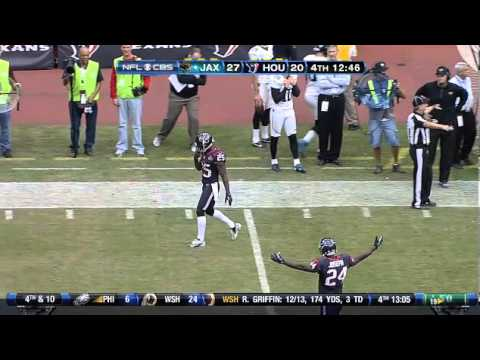 Justin Blackmon vs. Houston Texans 11/18/12