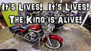 It Lives!  It Lives! - The King is Alive! - FLHRCI  | MotoVlog 57