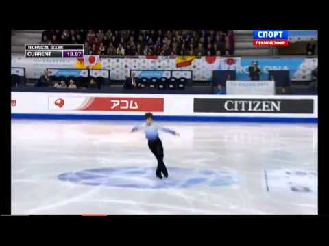 ISU Grand Prix of Figure Skating Final 2014. SP. Yuzuru HANYU