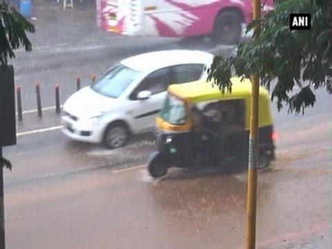 Cyclone warning in Vizag, Hubli drenches in rain - ANI News