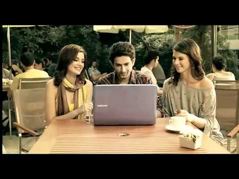 Samsung Laptop Advertisement