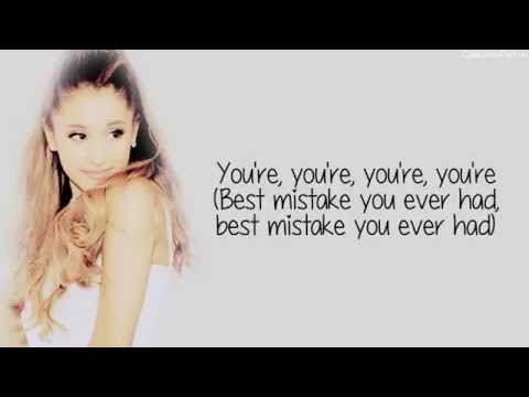 Ariana Grande - Best Mistake (Lyrics) Feat. Big Sean
