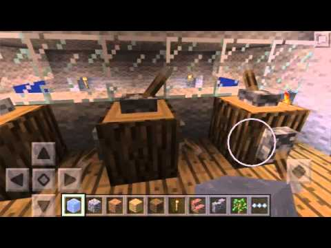Minecraft PE 0.13.0 RMS Titanic Sinking Map Review