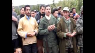 Khénifra. Association Aman naari de chasse .battue de sanglier  .wmv