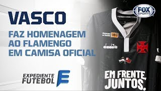 Vasco terá bandeira do Flamengo em sua camisa na semifinal