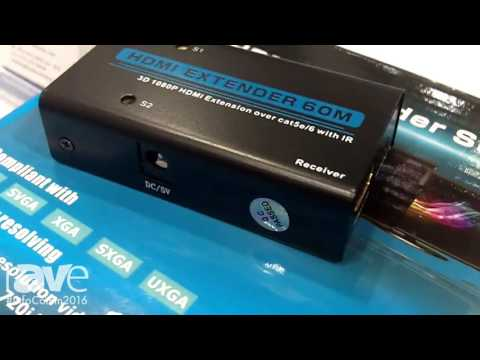 InfoComm 2016: CableWholesale Shows HDMI Extenders