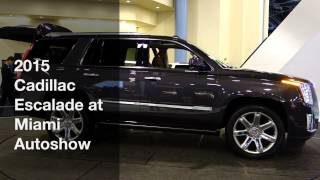 2015 Cadillac Escalade at SFIAS
