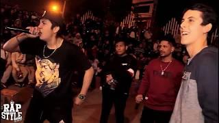 Ramset vs Jaze (BATALLÓN) -4tos- Activación Red Bull - Rapstyle Sjl 2018 - Lima-Perú