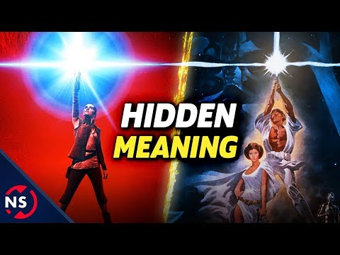 The Hidden Meaning in Star Wars: THE LAST JEDI Teaser Poster! || NerdSync