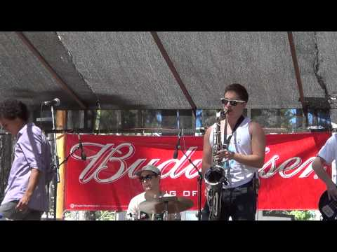 Heart of the Band solo and Super Funk by Uncle Junior 2013 Nevada County Fair