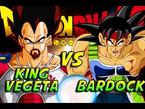 Bardock Fusion With King Vegeta King Vegeta vs Bardock